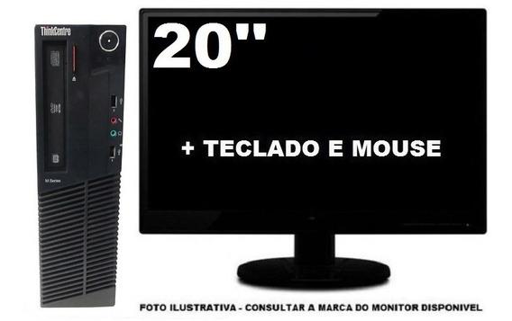Lenovo Thinkcentre M92 Intel Core I3 4gb 500gb Promoção