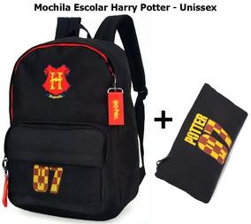 Mochila Escolar Harry Potter - Unissex