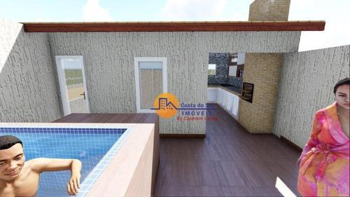 Ótima Casa Com 3 Dormitórios À Venda, 127 M² Por R$ 400.000 - Recreio - Rio Das Ostras/rj - Ca1797