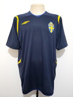 Camisa Oficial Futebol Seleção Suécia 2008 Away Umbro Gg