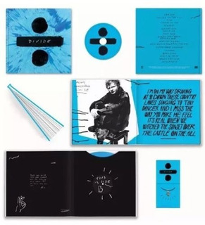 Ed Sheeran Full Box, Vinilo, Disco, Libro, Deluxe, Divide