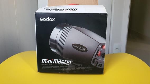 Flash Tocha Greika Mini Master Godox K-150a 220v
