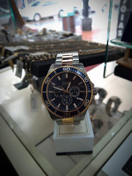 Relógio Guess Original De Vitrine Masculino 92488gpgsga2