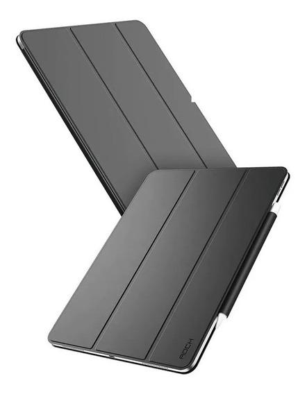 Smart Case Rock C/ Suporte Caneta iPad Pro 11 2018 + Pel Vd
