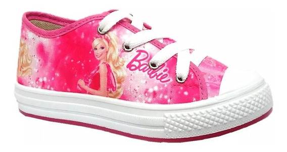Tenis Infantil Personalizados Barbie