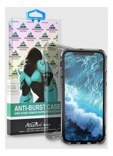 Capa Case Anti Impacto King Kong iPhone X Xs + Pel De Vidro