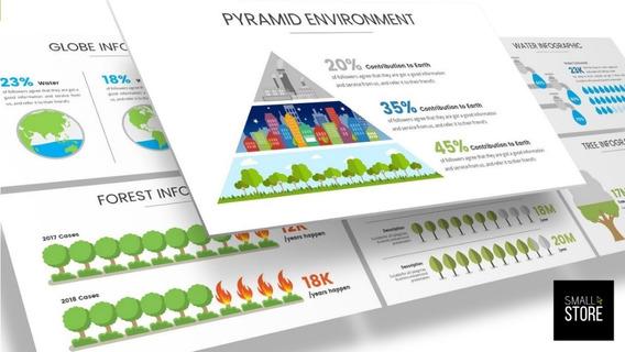 Templates Slides Powerpoint Infográficos E Dashboard