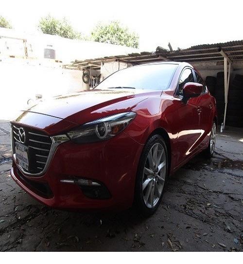 Mazda 3 4p S Grand Touring 2.5l,ta,piel,qc,gps,f.led,ra18