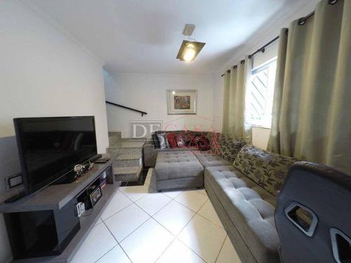 Imagem 1 de 30 de Sobrado Com 3 Dormitórios À Venda, 119 M² Por R$ 389.900,00 - Vila Santana - São Paulo/sp - So3909