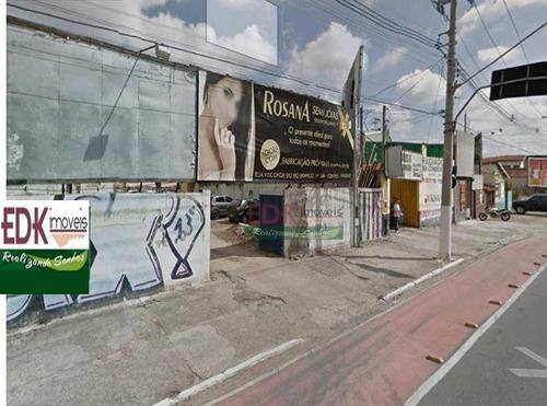 Imagem 1 de 2 de Terreno Comercial Para Locação, Centro, Taubaté. - Te0597