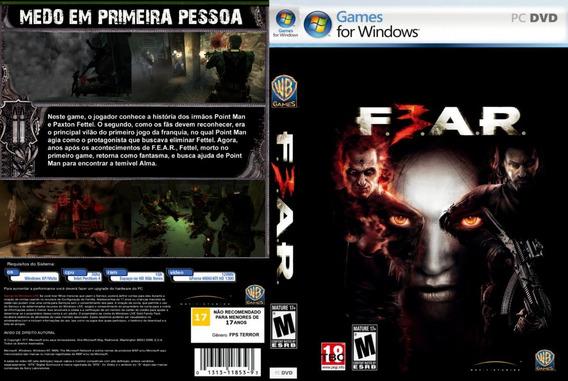 F. E. A. R. 3 Original Pc | Chave (cd-key) Steam | Fear