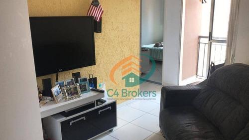 Apartamento Com 1 Dormitório À Venda, 48 M² Por R$ 179.900,00 - Picanco - Guarulhos/sp - Ap2844