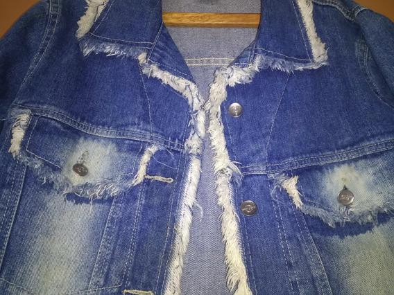 Jaqueta Jeans Feminina M