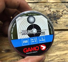 250 Postas Gamo Calibre 5.5 De Plomo Peso 15.13 Gr