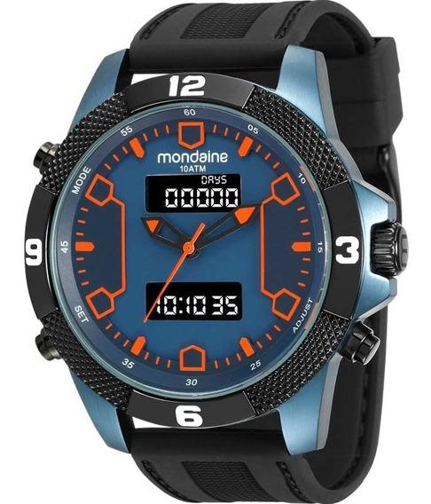 Relógio Mondaine Azul Original 99103gpmvtu2