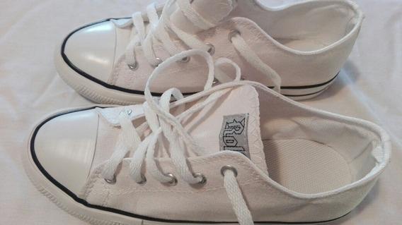 Zapatillas Blancas 39 Roller Excelente Estado