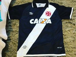 Camisa Do Vasco Preta/branca Gg