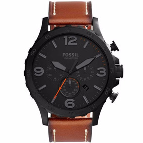 Relógio Fóssil Jr15242pn Cronógrafo Masculino+ Nf E Garantia