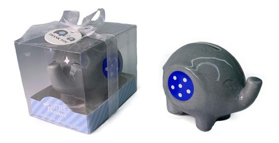 Recuerdo, 10 Alcancías Elefante Bautizo Comunión Originales