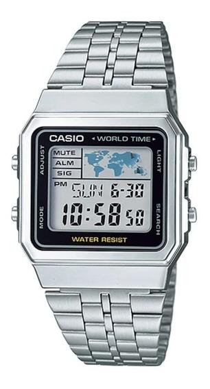 Relógio Casio Masculino Original A500wa-1df + Frete + Nf