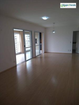 Apartamento Com 3 Dormitórios, 3 Suítes, 2 Vagas De Garagem, À Venda No Condomínio Parque Clube , 134 M² Por R$ 950.000 - Vila Augusta - Guarulhos/sp - Ap0008