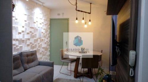 Apartamento À Venda, Por R$ 222.600 - Jardim Carlos Lourenço - Campinas/sp - Ap1815