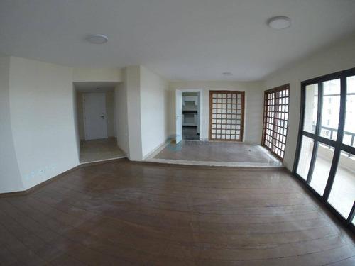 Apartamento Com 4 Dormitórios Para Alugar, 244 M² Por R$ 3.000,00/mês - Vila Suzana - São Paulo/sp - Ap1611
