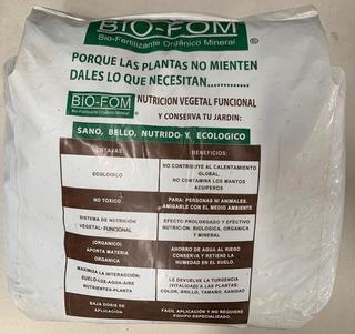 Fertilizante Organico Biofom Especial Plantas Y Césped