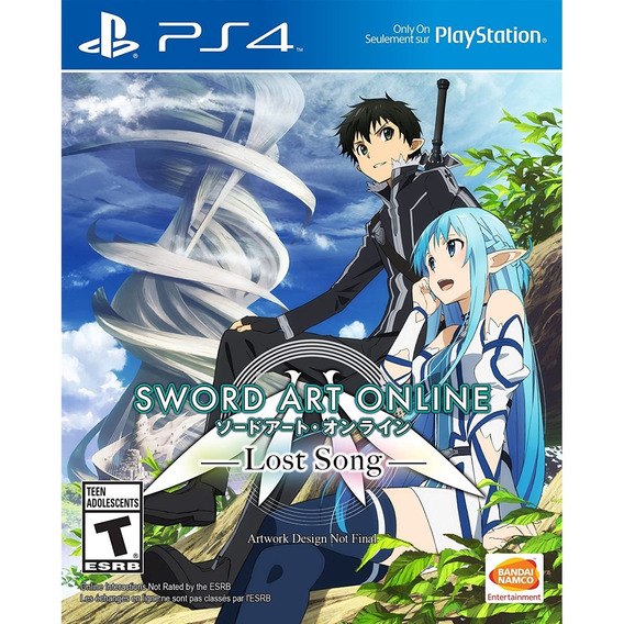 Sword Art Online Lost Song Ps4 Midia Fisica - Novo - Lacrado