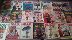 Coleção Revista Mad Editora Vecchi (101 Revistas)
