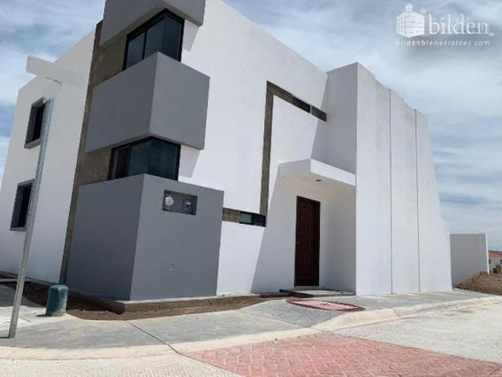 Casa Sola En Venta Frac. Residencial Los Nogales En Durango