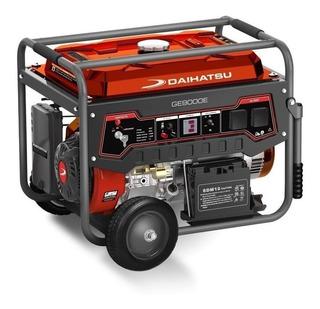 Generador Portátil Daihatsu Ge9000e 7500w Monofásico Avr