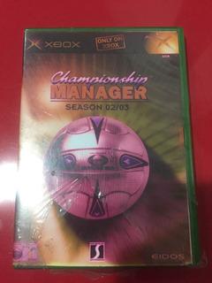 Jogo Xbox Clássico Original Championship Manager