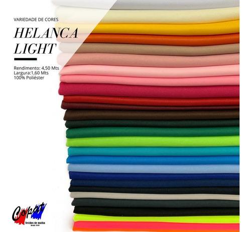 Tecido Helanca Light 1,30 Metro Mais De 25 Cores