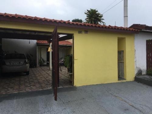 Imagem 1 de 3 de Casa De Laje Com Churrasqueira No Jamaica Itanhaém - 6313