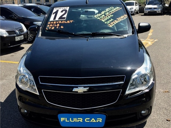 Chevrolet Agile 1.4 Mpfi Ltz Wifi 8v Flex 4p Manual