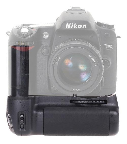 Battery Grip Travor Mb-d80 P/nikon D80 D90 12x S/juros