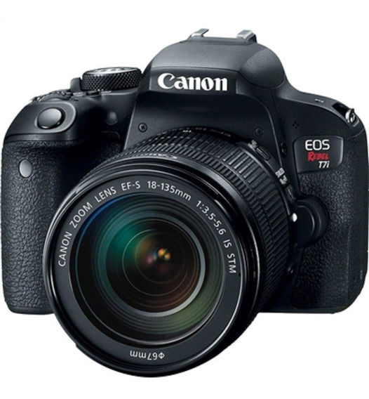 Canon Rebel T7i 18-135mm Is Usm Garantia Sem Juros