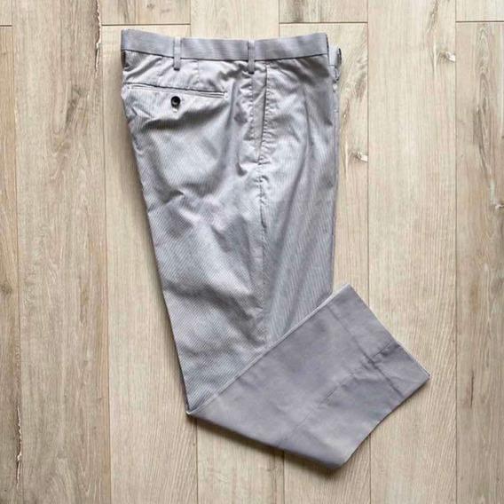 Pantalon De Vestir Uniqlo Tela Dry No Planchado T:86cm 31/32