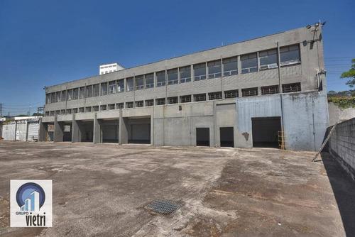 Terreno De 4.000 M2 Com Prédio Comercial Na Região Do Jaguaré - Pr0100