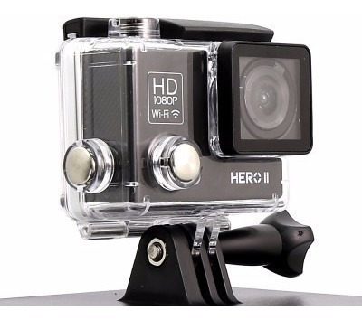 Goal Pro Hero 2 Câmera De Ação Silver Sport 2 Full Hd 1080p