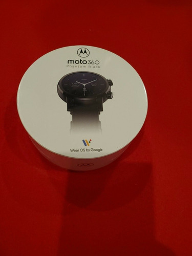 New Sealed Moto 360 Smartwatch With Wear Os Gen 3, Phantom
