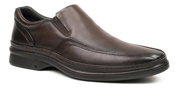 Sapato Masculino Pipper Holmes 54801 Couro Capuccino