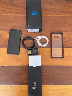Samsung S8 Original Funcionando Perfeitamente Tem Acessórios