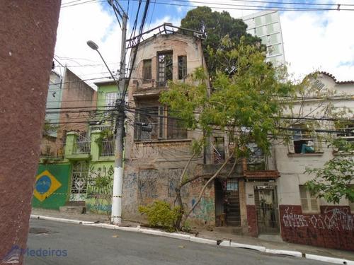 Sobrado Para Restauração, Entre Bela Vista E Morro Dos Ingleses, Rua Conselheiro Carrão. - Md690