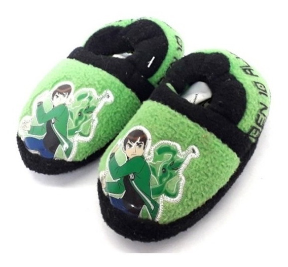Pantunflas Ben 10 Cartoon Network Footy Con Antideslizante