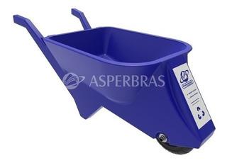 Carriola - Ecocarriola 70l - Carrinho De Mão - Azul