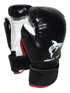 Guantes Juniors 6 Oz Cuero Sintetico,shark Box,boxeo,kick!!!