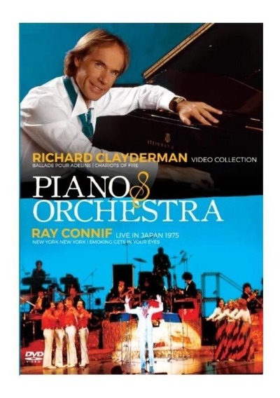 Dvd Piano & Orchestra - Richard Clayderman Video Collection