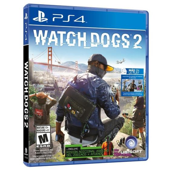 Jogo Mídia Física Watch Dogs 2 Original Playstation 4